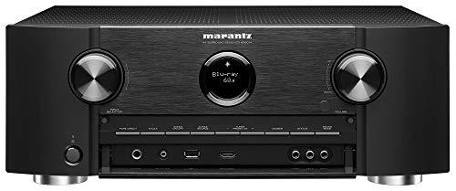 Marantz 4K UHD AV Receiver SR6014 - 9.2 Channel (2019 Model)   Latest Surround Sound Formats - IMAX Enhanced   Dolby Virtual Height Elevation   Amazon Alexa   Online Streaming   Home Automation