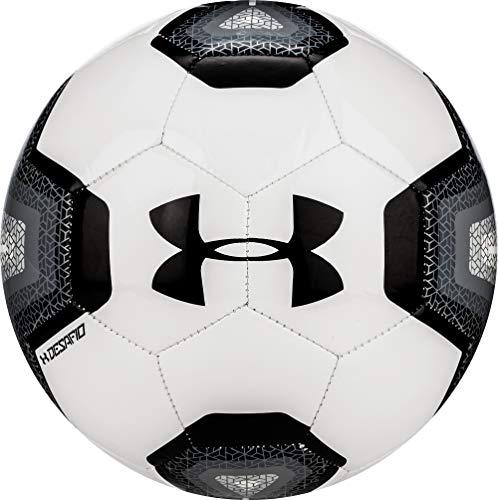 Under Armour DESAFIO 395 Soccer Ball, Size 3, White/Black