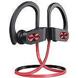 [Upgraded]Mpow Flame S Bluetooth Kopfhörer, Sport-Kopfhörer mit aptX-HD Audio, Bluetooth 5.0/ 12 Stunden Spielzeit/ cVc 8.0 Technologie, IPX7 Wasserdicht SportKopfhörer für Laufen/ Joggen