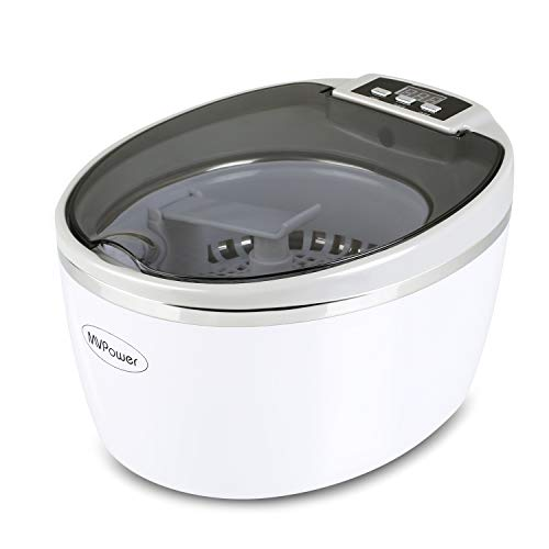 MVPower Pulitore a ultrasuoni 750 ml Digital Ultrasonic Cleaner Detergente in acciaio inox ad...