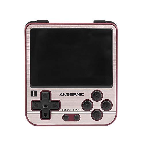 RG280V Handheld Retro Game Console 4770 Dual 1.0GHz 2.8 Inch IPS Screen OCA Full Lamination OpenDingux (Gold)