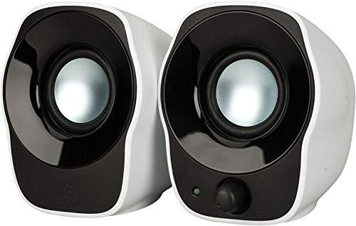 Logitech Z120 Altoparlanti Stereo PC Compatti, Ingresso Audio da 3.5 mm, Alimentazione USB,...