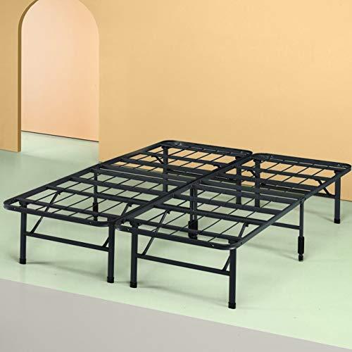 Zinus Shawn 14 Inch Metal SmartBase Bed Frame / Platform Bed Frame / No Box Spring Needed / Sturdy Steel Frame / Underbed Storage, Full