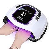 Lampe UV Sèche Ongles, 108W UV LED Séchoir à Ongles Professionnel...