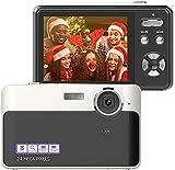 Appareil Photo Numérique Caméra 24MP Écran LCD 2,4 Pouces Mini Caméra...