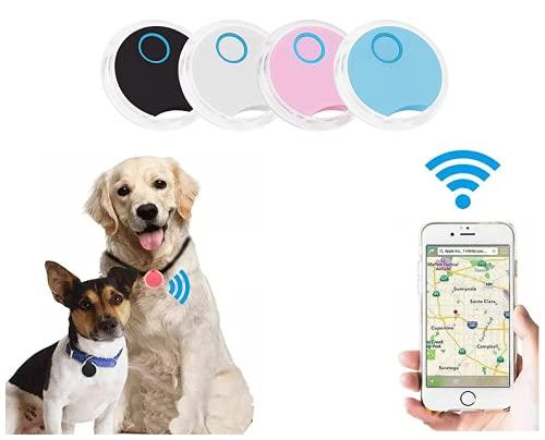 Anti Perdu Collier GPS Chats Localisateur, Traceur GPS Chien, Animaux domestiques Chien Chat véhicules Enfants âgées Mini SOS Outdoor Navigation GPS localisation. (Blanche)