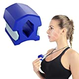 Jaw Exerciser, Double Chin Reducer Facial Muscle Exerciser Jaw- Jawline Shaper Exerciser- Face Slim Chin Slimming, Neck Toning Muscle, Without Gagging Reflex