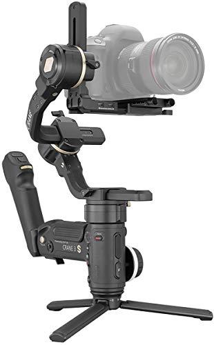 【国内正規品】 ZHIYUN CRANE 3S ジンバル 電動スタビライザー シネマカメラ 一眼レフカメラ対応 日本語マニュアル&サポート (CRANE 3S)