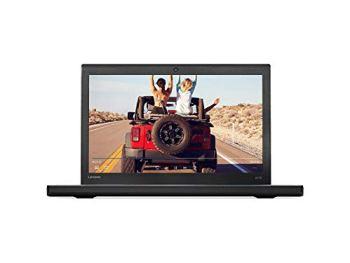 "Lenovo ThinkPad X270 12.5"" HD Anti-Glare Portable Laptop, Intel Core i5-6300U up to 3.0GHz, 8GB DDR4, 256GB PCIe SSD, LTE-A, Wireless-AC, Bluetooth, Webcam, HDMI, Card Reader, Windows 10 Professional"