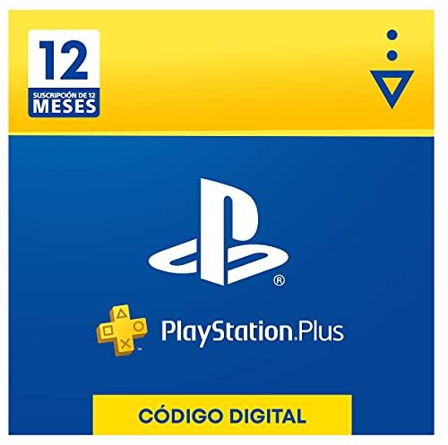 Sony, PlayStation Plus - Suscripción 12 Meses   PS5/PS4/PS3  ...