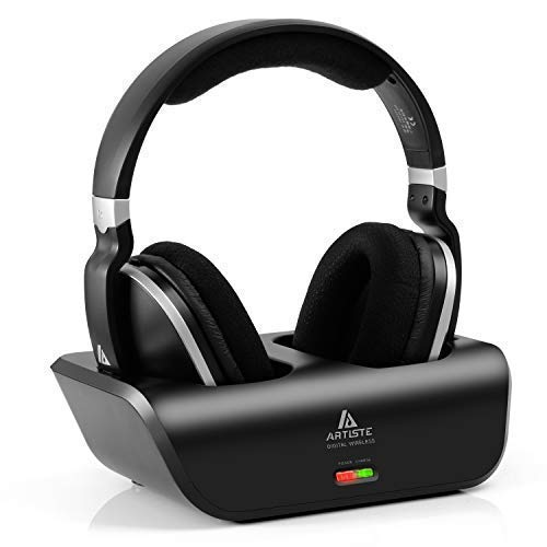12. ARTISTE Wireless TV Headphones Over Ear Headsets