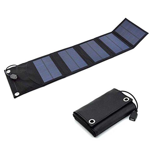 Pannelli Ledmomo caricatore solare pieghevole portatile USB solare torcia con porte USB per...