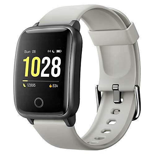 Willful Orologio Smartwatch Orologio Contapassi Orologio Sport Frequenza Cardiaca Conta Calorie e Km Monitoraggio Sonno Sveglia Vibrazione Orologio Uomo Smart per Hommie Femminile per Corsa Running