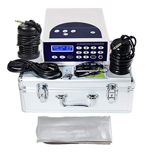 iMeshbean® Ionic Ion Detox Foot Bath Aqua Spa Cleanse Machine with 2 Arrays LCD DisplayM#02 USA