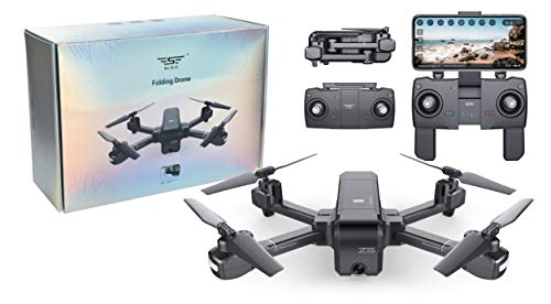 Drone QUADRICOTTERO RADICOMANDATO GPS Headless WiFi FPV Camera HD Video Foto SJR Z5