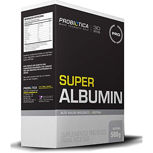 Super Albumin (500g) Probiótica-Sem Sabor