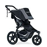 BOB Gear Revolution Flex 3.0 Jogging Stroller | Smooth Ride Suspension + Easy Fold + Adjustable Handlebar, Graphite Black [New Logo]