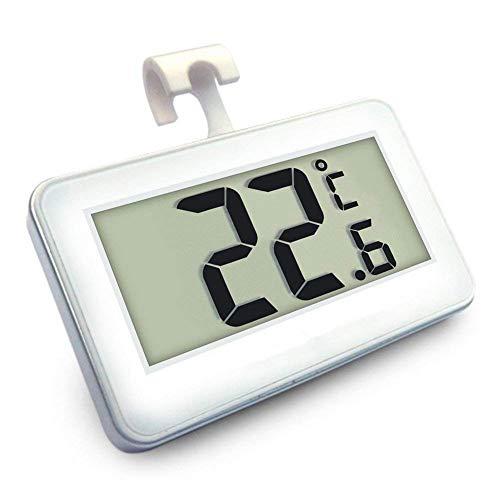 Termometri per Frigoriferi Digitale Termometro da Frigo Mini Impermeabile Congelatore Termometro con...
