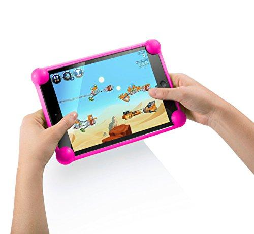Color Dreams Custodia in silicone tablet universale. Cover in silicone tablet pc compatibile con tablets pc di qualsiasi dimensione e marca. Il custodia ideale per bambini o adu tablets. Lo stesso custodia per tutte le dimensioni di tablet PC da 7 ', 8', 9', 9.7', 10.1', iPad 2/3/4/ , Ipad Air, Ipad Mini, Galaxy Tab/Tab S/Note Pro, Nexus 7, Kindle Fire HD 6/7 Fire HDX 7/8.9 Fire 2. Prodotto p