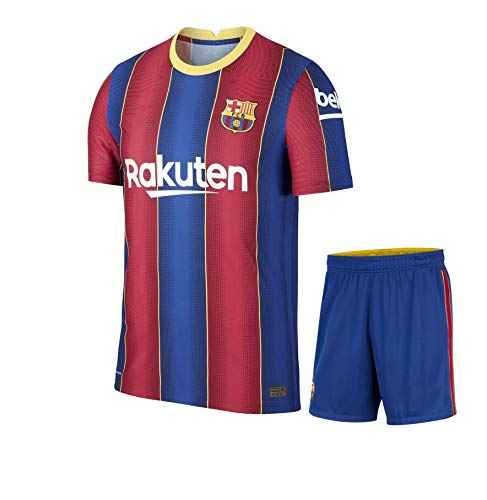 Football Barcelona Home Jersey with Shorts 2020-21 (M-38)