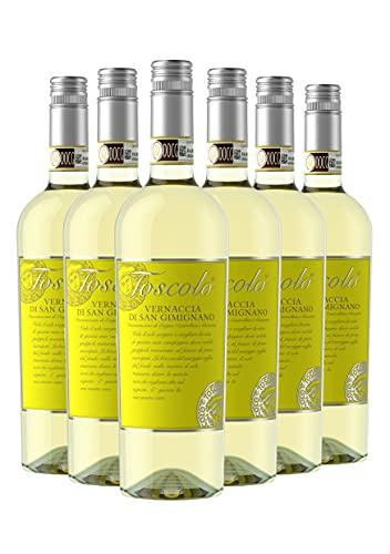 Toscolo Vernaccia di San Gimignano 2020 - Vino Toscano Bianco - DOCG - 0.75L (6 Bottiglie)