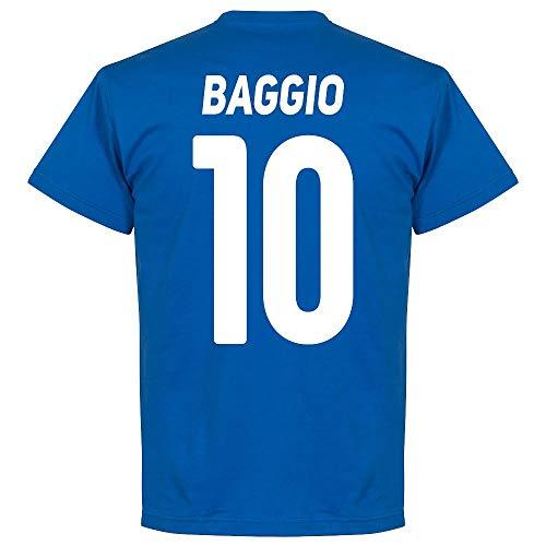 Brescia Baggio 10 Tee - Royal, Uomo, Striper Ll CVO Textured, XXX-Large