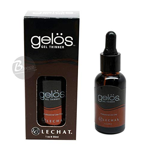 Gelos Soak-Off Gel, Gel Polish, UV Gel Thinner for Shellac Gel, Gelish, Perfect Match Gel ... 1 Oz (30 ml) Bottle with Dropper by LG