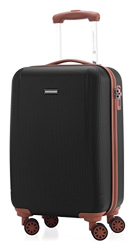 HAUPTSTADTKOFFER - Wannsee - Valigia bagaglio a mano 58 cm, Trolley rigido, legero, ABS, TSA, 37...