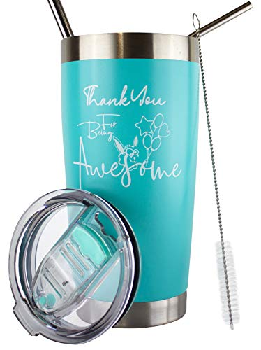 Thank You For Being Awesome Tumbler   Thank You Gifts For...