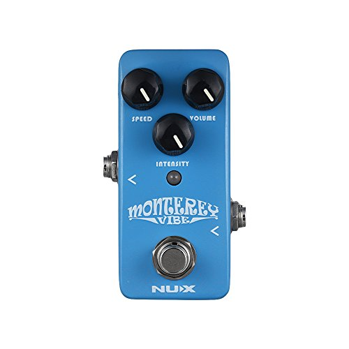 Bedler NCH-1 MONTEREY Vibe Guitar Effect Pedal Mix of Chorus Rotary Speaker Phaser Effects Full Metal Shell True Bypass