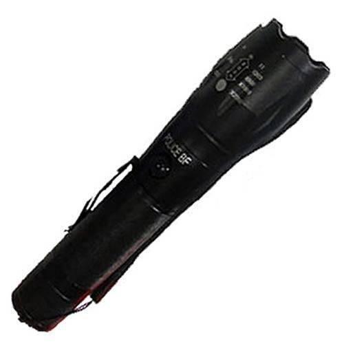 Lanterna Tática Policial Led Cree Recarregável 22000w X9-t6