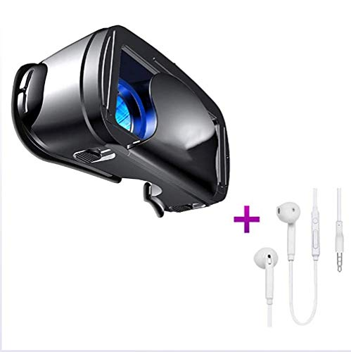 Virtual Reality Headset for Movies, 5-7 Inch Virtual Reality Glasses VR Glasses VR 3D VR Glasses for iPhone, Android and Other Phones