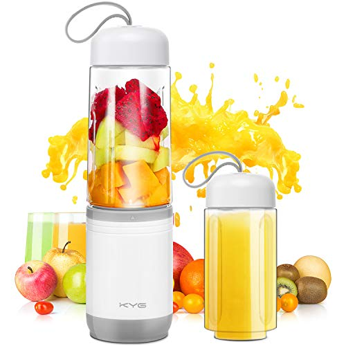 KYG Mini Blender 2 en 1 Blender Smoothie et Milk-shake Mixeur Portable sans...