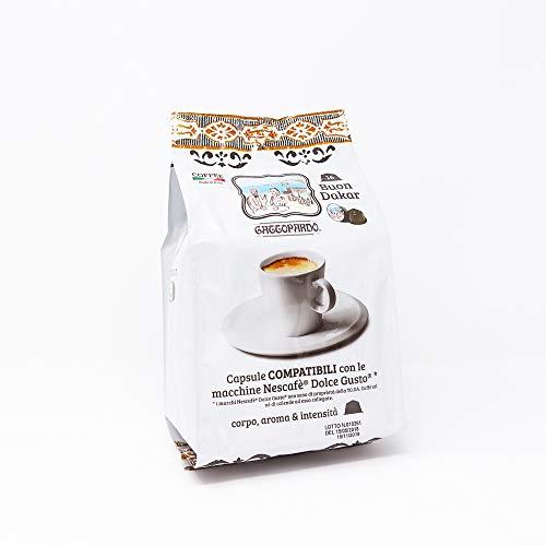Gattopardo 128 Capsule Caffè, Dakar, Compatibili Dolce Gusto - 1000 gr