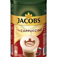 Jacobs Krönung Cappuccino Classico Instantkaffee mild Dose 400g