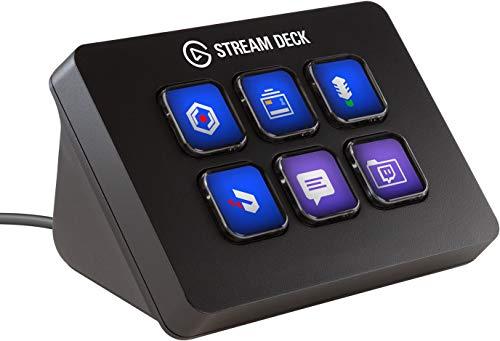 Elgato Stream Deck Mini - Controlador para creación de contenido en directo con 6 teclas LCD...