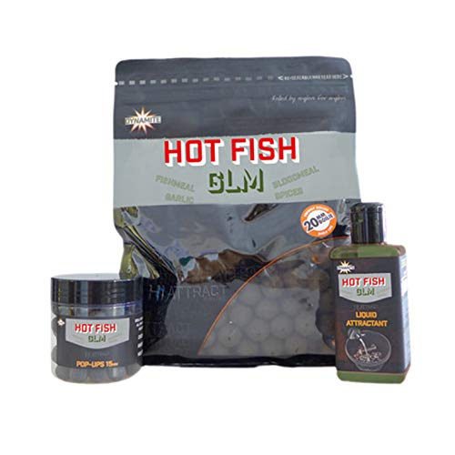 Dynamite Baits Hot Boilies da Pesca, Marrone, 20mm