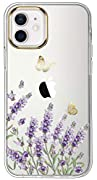 [Compatible]: exclusively designed for iPhone 12 ,iPhone 12 Pro 6.1 inch 2020 Made of Premium TPU: This slim, transparent protective bumper case is anti-yellowing and Anti-watermark, gives your iPhone a sleek and modern look. Flexiblity & Shock-Absor...