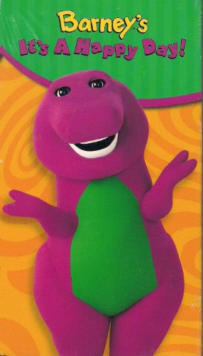 Barney's It's a Happy Day (Toys R Us Exclusive) [VHS]