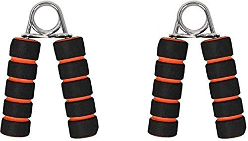 VIFITKIT Hand Gripper Forearm Exerciser Wrist (Two Piece) Fitness Foam Hand Grip,Hand Gripper,Grip Strength Trainers (Colour May Very)