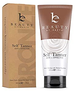"Say hello to perfect sun-kissed skin: Our self tanner transforms your skin from pale to a natural glow. Transforms even the most fair skin from ""meh"" to ""marvelous"" without any of those nasty streaks, orange color, blotches, or dark spots. Get your t..."