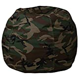Flash Furniture Small Camouflage Bean Bag Chair for Kids and Teens