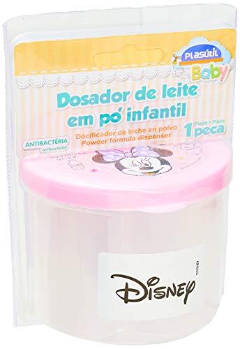 Dosador de Leite em Pó Minnie Baby, Plasútil, 006939-506, Rosa