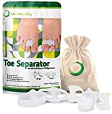 Bunion Corrector - Orthopedic Bunion Corrector for Big Toe - Toe Separators Help Provide Bunion Relief - Straightens Toes - Soft Medical Grade Gel - Comfortably Worn with Or Without Shoes