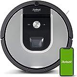 iRobot Roomba 971 Robot aspirador, Alta potencia, Recarga y sigue limpiando, Óptimo para mascotas, Dirt Detect, Se coordina con Braava jet m6, Sugerencias personalizadas, Compatible con asistentes voz