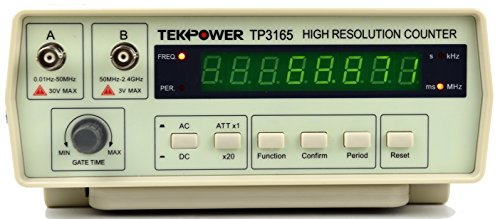 TekPower TP3165 Intelligent Frequency Counter 0.1Hz to 2.4Ghz
