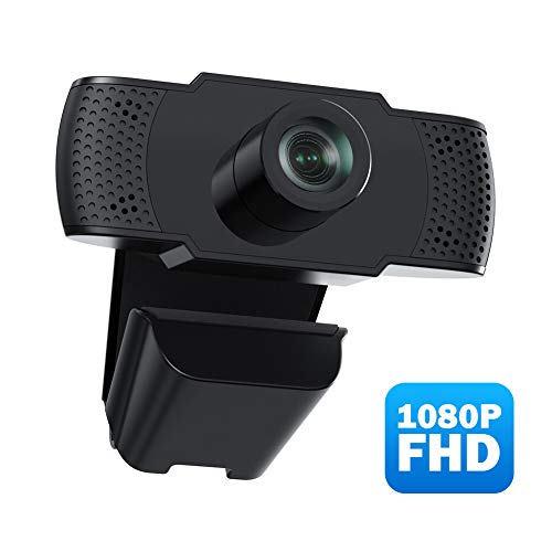 usogood Cámara Web 1080P Webcam con Micrófono, Computadora Portátil...