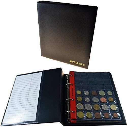 Album pour 206 pochettes mixtes pour petites, moyennes et grosses pièces:...