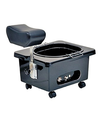 Pibbs DG105 Fiberglass Portable Footsie Pedicure Spa for Salons & Spas, PIB-DG105