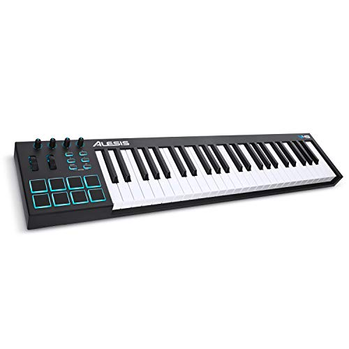Alesis V49 |49-Key USB MIDI Keyboard Controller with Backlit Pads, Plus a Professional Software Suite with ProTools | First Included